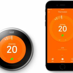 Pro Nest Thermostat -  turn off the heating and hot water remotely
